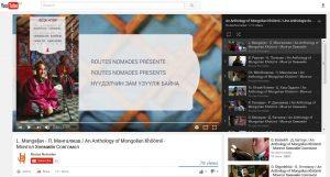"""Playlist """"An Anthology of Mongolian Khöömii"""" is online!"""