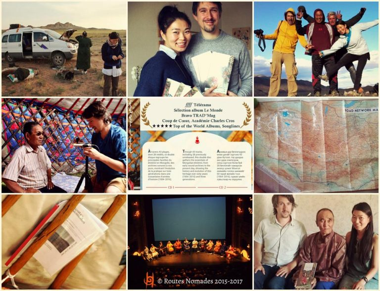 Quick photo reportage: release of the Anthology in Mongolia & shooting of the film Journey in Diphonia