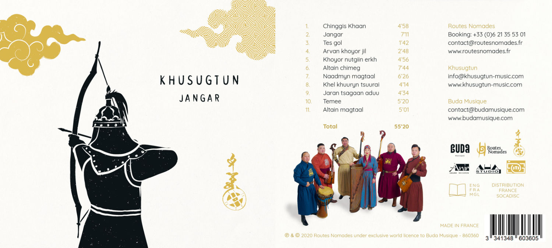 «Jangar» de Khusugutun – 6 mois dans les médias!
